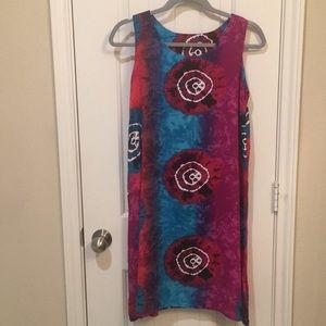 custom made Dresses - Beach dress tie dye